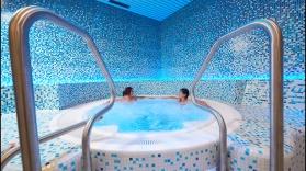 Ovronnaz, le 18 juin 2013, nouveau Spa des bains d'Ovronnaz. © sedrik nemeth