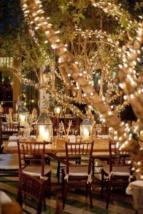 decoración del lugar del banquete 1